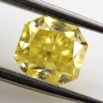 Fancy Vivid Yellow, 1.00 carat