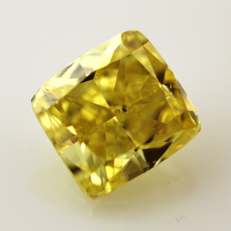 Fancy Vivid Yellow, 2.12 carat, SI2