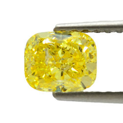 Fancy Vivid Yellow, 1.81 carat