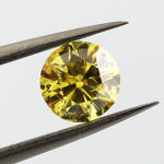 Fancy Vivid Yellow, 1.00 carat