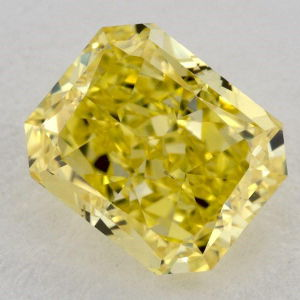 Fancy Vivid Yellow, 1.02 carat, SI1