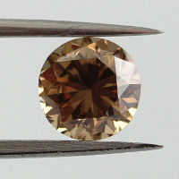 Fancy Yellow Brown, 1.02 carat, SI1