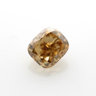 Fancy Yellow Brown, 1.49 carat, VS2