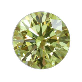 Fancy Yellow, 0.85 carat, SI2