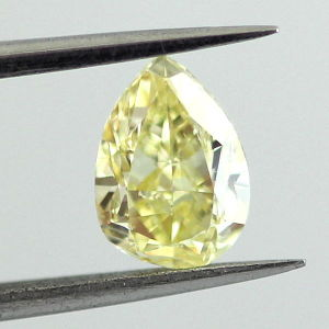 Fancy Yellow, 2.12 carat, SI2