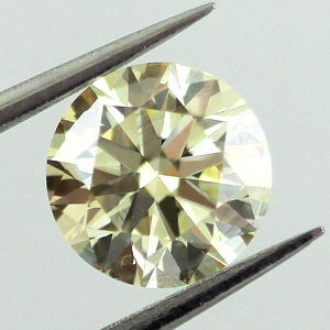 Fancy Yellow, 1.00 carat, VS2