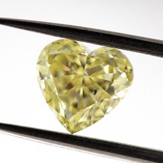 Fancy Yellow, 1.15 carat, SI2