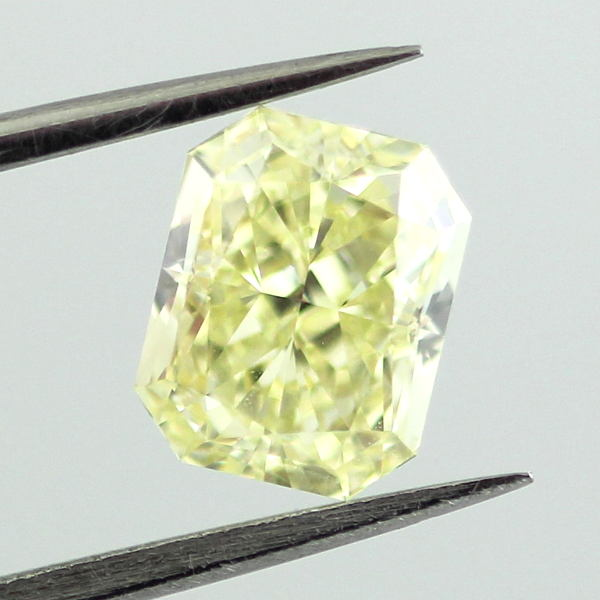Fancy Yellow Diamond, Radiant, 1.24 carat, SI1