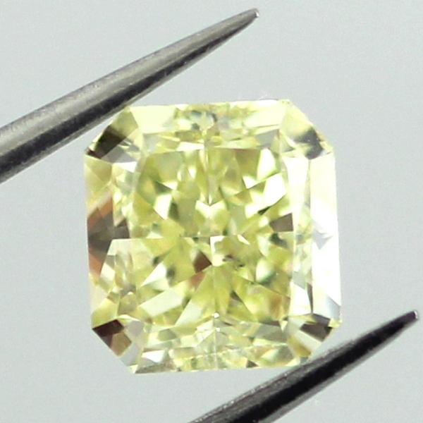 Fancy Yellow Diamond, Radiant, 1.01 carat, SI1
