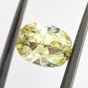 Fancy Yellow, 1.00 carat, VS2
