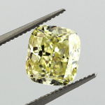 Fancy Yellow, 2.10 carat, VS1