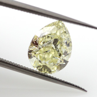 Fancy Yellow, 2.41 carat, VS2