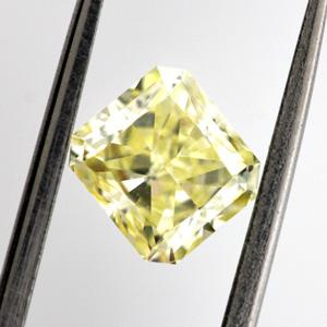 Fancy Yellow, 1.00 carat, VS1