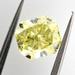 Fancy Yellow, 1.00 carat, IF