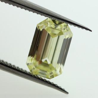 Fancy Yellow, 1.22 carat, SI2