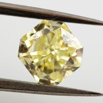 Fancy Yellow, 0.92 carat, VS1