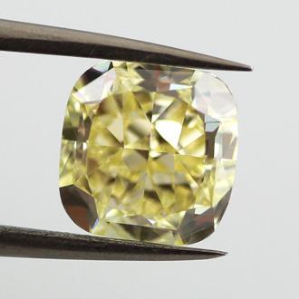 Fancy Yellow, 3.18 carat, VS1