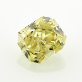 Fancy Yellow, 0.90 carat, VVS2