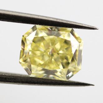 Fancy Yellow, 1.07 carat, VVS2