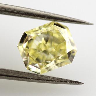 Fancy Yellow, 1.01 carat, VS2