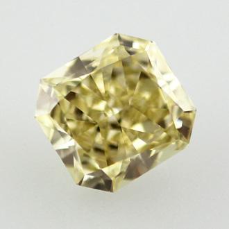 Fancy Yellow, 0.74 carat, SI1