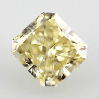 Fancy Yellow, 0.77 carat, VVS2