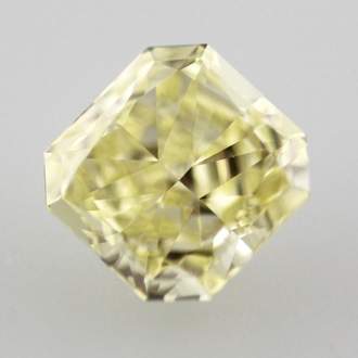 Fancy Yellow, 0.65 carat, VS1