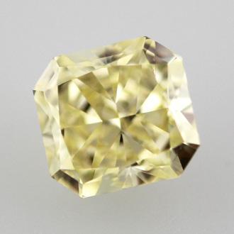 Fancy Yellow, 0.70 carat, VVS2
