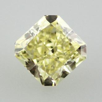 Fancy Yellow, 0.62 carat, VS2