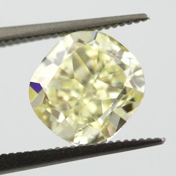 Fancy Yellow, 3.59 carat, VS1