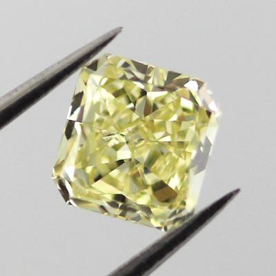 Fancy Yellow, 0.71 carat, SI1