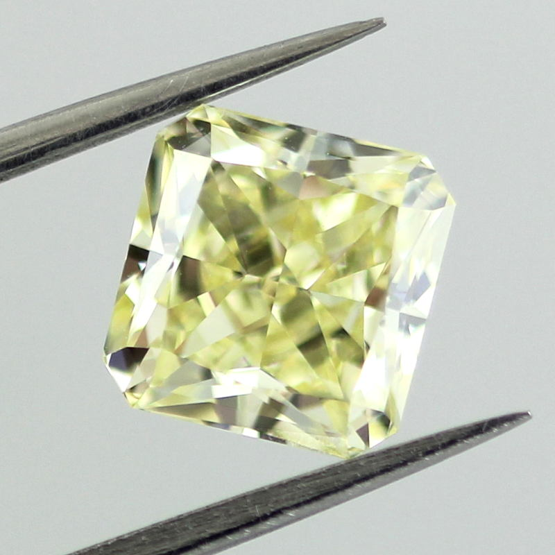 Fancy Yellow Diamond, Radiant, 2.04 carat, VVS1
