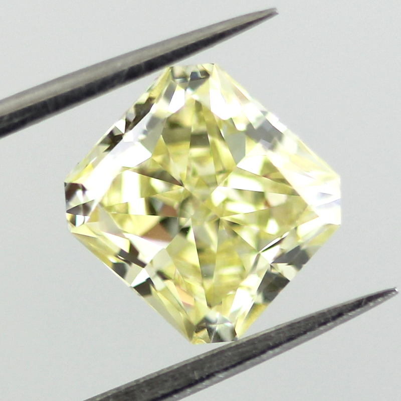 Fancy Yellow Diamond, Radiant, 2.01 carat, SI1