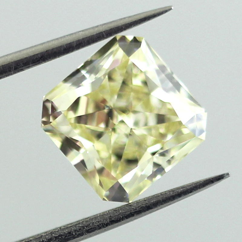 Fancy Yellow Diamond, Radiant, 2.14 carat, VS2