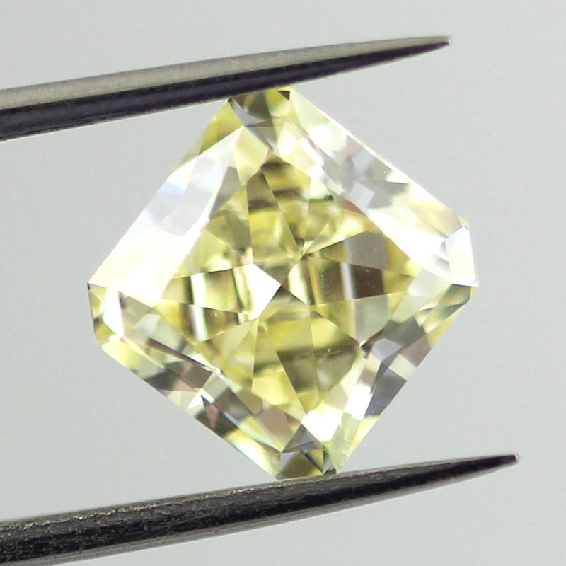 Fancy Yellow Diamond, Radiant, 2.23 carat, SI1