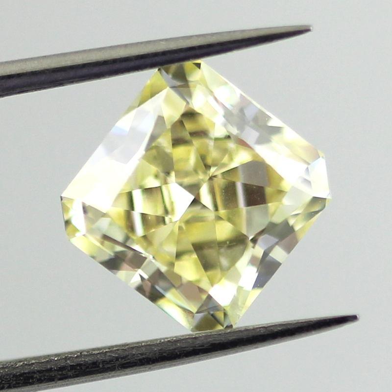 Fancy Yellow Diamond, Radiant, 2.23 carat, SI1