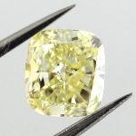 Fancy Yellow, 0.82 carat, SI1