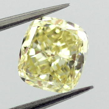 Fancy Yellow, 1.23 carat, SI1
