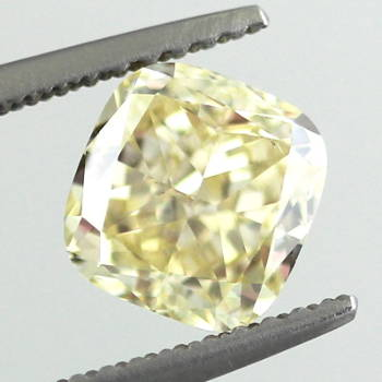 Fancy Yellow, 1.81 carat, VS2