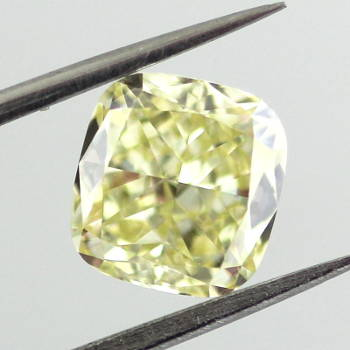 Fancy Yellow, 1.84 carat, SI1