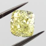 Fancy Yellow, 0.70 carat, VS1