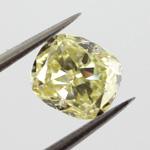 Fancy Yellow, 0.78 carat, SI2