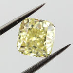 Fancy Yellow, 1.04 carat, SI1