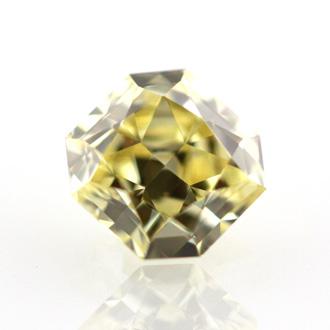 Fancy Yellow, 0.39 carat, VVS2