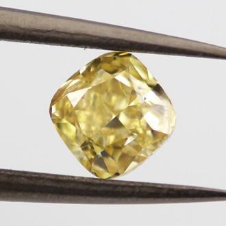 Fancy Yellow, 0.70 carat