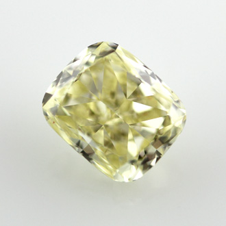 Fancy Yellow, 1.58 carat, VS2