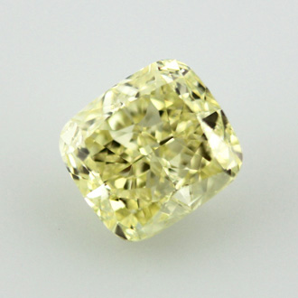 Fancy Yellow, 5.27 carat, SI1