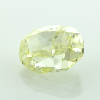 Fancy Yellow, 1.63 carat, VVS2