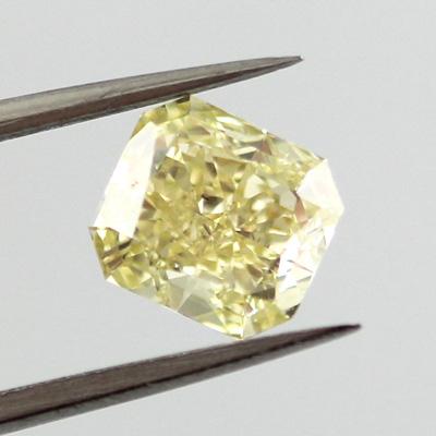 Fancy Yellow, 1.02 carat, SI2