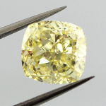 Fancy Yellow, 2.48 carat, VS2